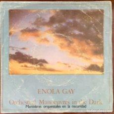 Discos de vinilo: O.M.D. ENOLA GAY. SINGLE 7'.. Lote 172354978