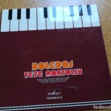 Discos de vinilo: DISCO DE VINILO 33 RPM DE TETE MONTOLIU - BOLEROS - BELTER- 1977. Lote 172361827
