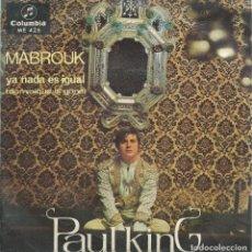 Discos de vinilo: PAUL KING, MABROUK. (COLUMBIA 1967) -TRICENTER-. Lote 172367509