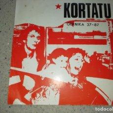 Discos de vinilo: KARTATUGERNIKA 37-87 SINGLE 1988 GESTORAS PRO AMNISTIA. Lote 172368305