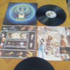 Discos de vinilo: JOYA DOBLE LIVE ALBUM JOURNEY. CAPTURED, SELLO CBS 88525. AÑO 1981, EDITADO EN PORTUGAL.. Lote 172369568