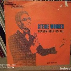 Discos de vinilo: STEVIE WONDER - HEAVEN HELP US ALL / GIVE YOUR LOVE (1971). Lote 172375839