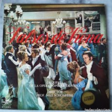 Discos de vinilo: VALSES DE VIENA . DIRECTOR MAX SHÖNHERR. LP VINILO. Lote 172378519