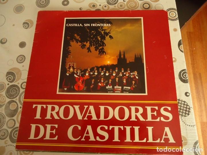 TROVADORES DE CASTILLA, CASTILLA SIN FRONTERAS (Música - Discos de Vinilo - EPs - Country y Folk)