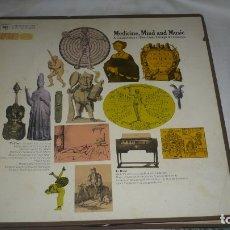 Discos de vinilo: MEDICINE, MIND AN MUSIC (DOS DISCOS VINILO). Lote 172388142