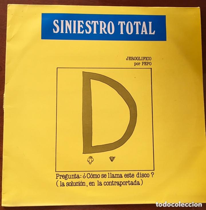 SINIESTRO TOTAL. GRANDES EXITOS. LP (Música - Discos - LP Vinilo - Grupos Españoles de los 70 y 80)