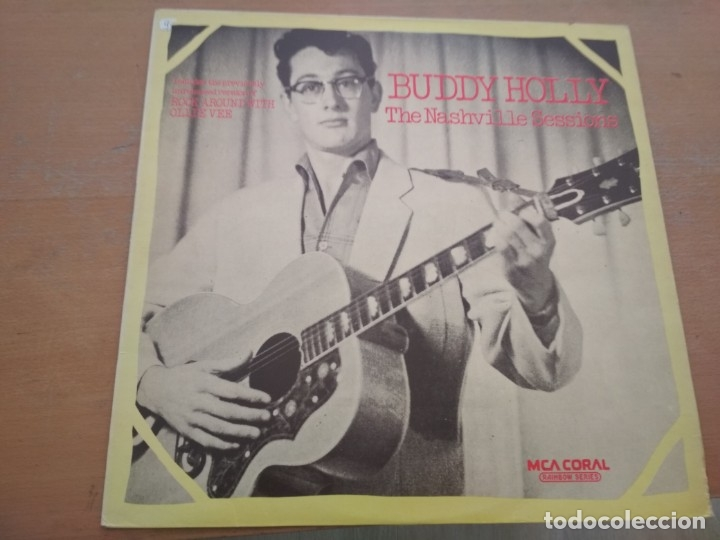 BUDDY HOLLY THE NASHVILLE SESSIONS LP (Música - Discos - LP Vinilo - Rock & Roll)