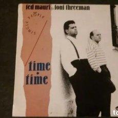 Discos de vinilo: LP-TED MAURI & TONI THREEMAN-TIME TIME-1988. Lote 172417148