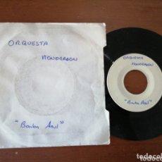 Discos de vinilo: ORQUESTA MONDRAGÓN BARBA AZUL TEST PRESSING DIFÍCIL 1983. Lote 172418293