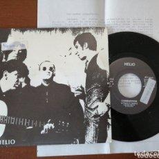 Discos de vinilo: HELIO COMBUSTIÓN HOJA DE PRENSA DISCOS TRILITA 1991. Lote 172420238