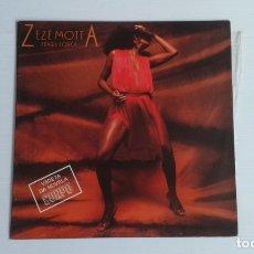 Discos de vinilo: ZEZE MOTTA - FRAGIL FORCA LP 1984 EDICION PORTUGAL. Lote 172421409