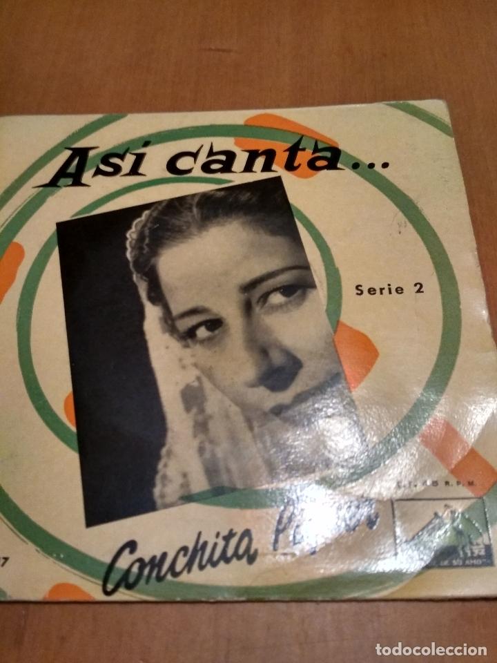 ASÍ CANTA CONCHITA PIQUER (Música - Discos de Vinilo - Maxi Singles - Otros estilos)