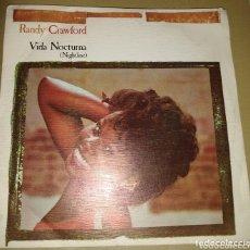 Discos de vinilo: RANDY CRAWFORD - VIDA NOCTURNA. Lote 172451453