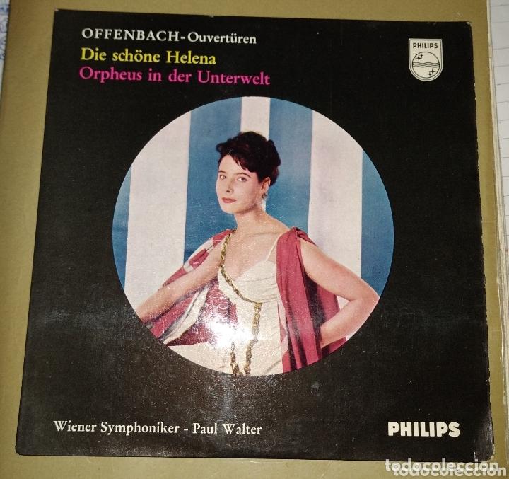 ORQUESTA SINFONICA DE VIENA. PAUL WALTER - DOE SCHÖNE HELENA (Música - Discos - Singles Vinilo - Clásica, Ópera, Zarzuela y Marchas)