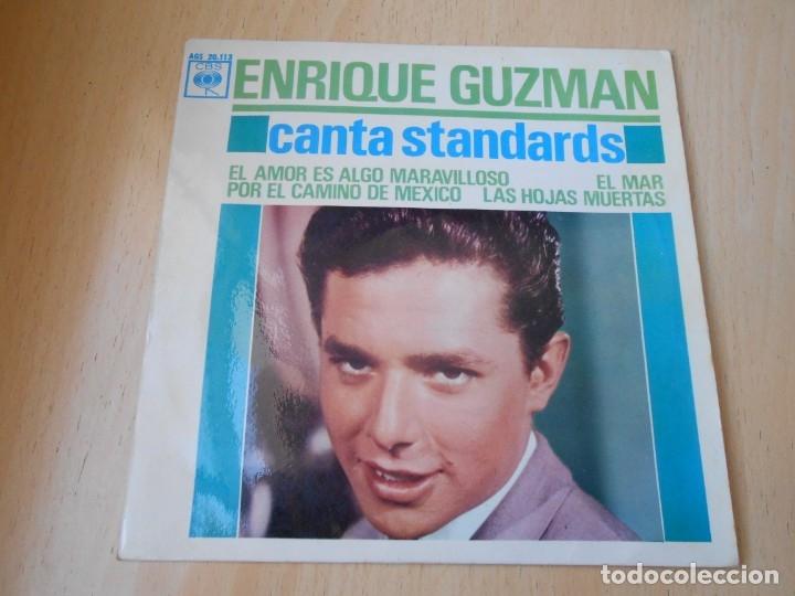 ENRIQUE GUZMAN, EP, EL AMOR ES ALGO MARAVILLOSO + 3, AÑO 1963 (Música - Discos de Vinilo - EPs - Solistas Españoles de los 50 y 60)