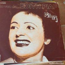 Discos de vinilo: EDITH PIAF LA VOZ DE.. Lote 172469853