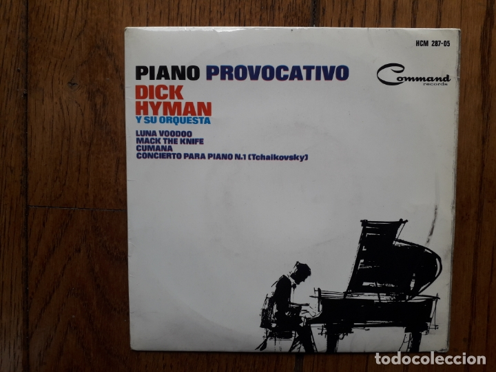 DICK HYMAN Y SU ORQUESTA - PIANO PROVOCATIVO - LUNA WOODOO + MACK THE KNIFE + CUMANA + 1 (Música - Discos de Vinilo - EPs - Orquestas)