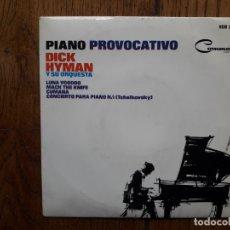 Discos de vinilo: DICK HYMAN Y SU ORQUESTA - PIANO PROVOCATIVO - LUNA WOODOO + MACK THE KNIFE + CUMANA + 1. Lote 172474772