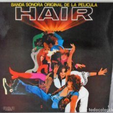 Disques de vinyle: HAIR - BANDA SONORA ORIGINAL R C A - 2 LP´S - 1979 GAT. Lote 172513747