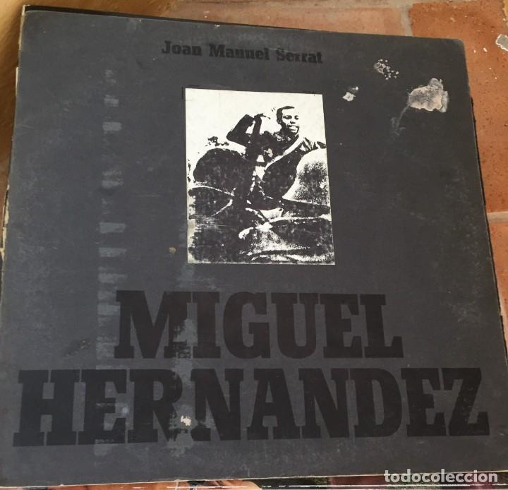 JOAN MANUEL SERRAT MIGUEL HERNÁNDEZ (Música - Discos de Vinilo - Maxi Singles - Cantautores Españoles)