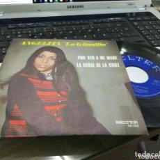 Discos de vinilo: ANGELITA ''LA GITANILLA'' SINGLE POR VER A MI MARE 1972. Lote 172572478