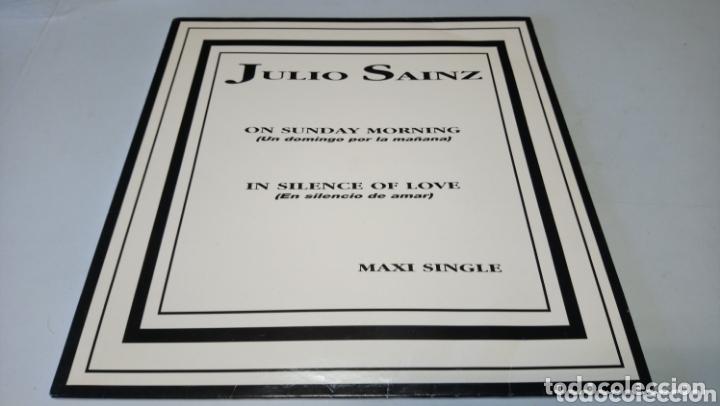 JULIO SAÍNZ–ON SUNDAY MORNING (UN DOMINGO POR LA MAÑANA) VINILO BUEN DÍA ESTADO (Música - Discos de Vinilo - Maxi Singles - Electrónica, Avantgarde y Experimental)