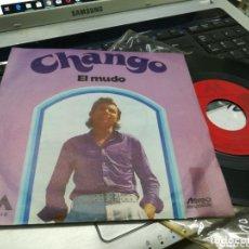 Discos de vinilo: CHANGO SINGLE EL MUDO 1972. Lote 172573693