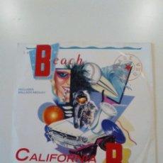 Discos de vinilo: THE BEACH BOYS CALIFORNIA DREAMIN / LADY LIBERTY / MEDLEY ( 1986 CAPITOL UK ). Lote 172583473