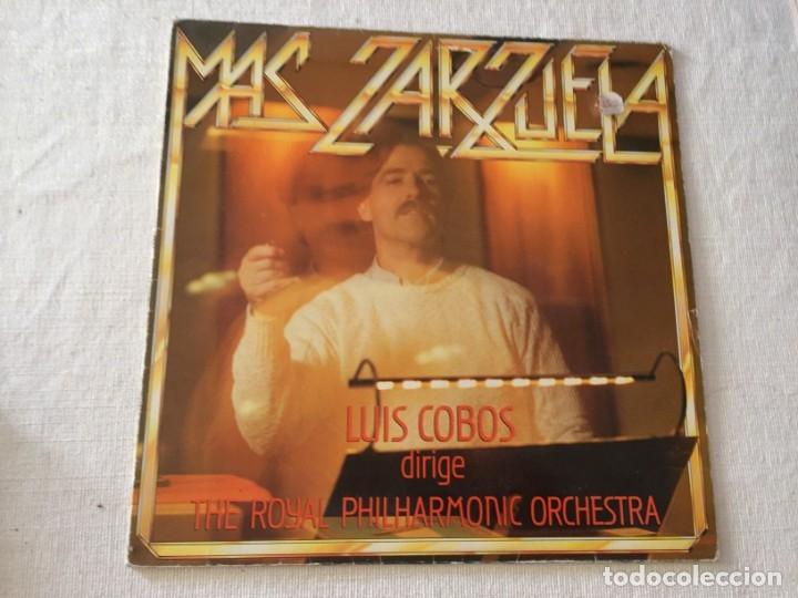 LP LUIS COBOS MAS ZARZUELA THE ROYAL PHILHARMONIC ORCHESTRA (Música - Discos - Singles Vinilo - Clásica, Ópera, Zarzuela y Marchas)