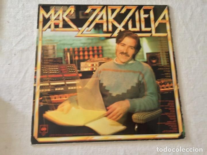 Discos de vinilo: LP LUIS COBOS MAS ZARZUELA THE ROYAL PHILHARMONIC ORCHESTRA - Foto 2 - 172584684