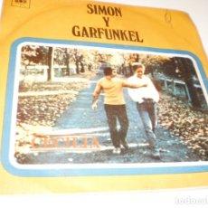 Discos de vinilo: SINGLE SIMON Y GARFUNKEL. CECILIA. EL ÚNICO MUCHACHO QUE VIVE EN NUEVA YORK CBS 1970 SPAIN. Lote 172591565