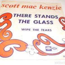Discos de vinilo: SINGLE SCOTT MAC KENZIE. THERE STANDS THE GLASS. WIPE THE. CAPITOL 1967 SPAIN (DISCO PROBADO Y BIEN). Lote 172591763