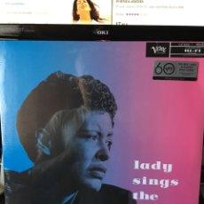 Discos de vinilo: BILLIE HOLIDAY-LADY SINGS THE BLUES-REEDICION 180 GR-PRECINTADO NUEVO!!. Lote 172602260