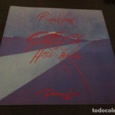 Discos de vinilo: ROGER WATERS - TOUR PROGRAMME - PROS AND CONS OF HITCH HIKING - PINK FLOYD - ERIC CLAPTON. Lote 172617568