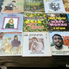 Discos de vinilo: LOTE 14 SINGLES CANTANTES ESPAÑOLES. Lote 172626024