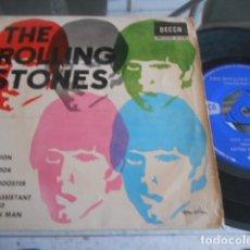 Discos de vinilo: SINGLE THE ROLLING STONES - EP AÑO 1965. Lote 180124626