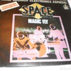 Discos de vinilo: SINGLE SPACE. MAGIC FLY.. BALLAD FOR SPACE LOVERS. HISPAVOX 1977 SPAIN (PROBADO Y BIEN, SEMINUEVO). Lote 172632923