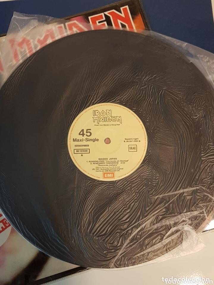 Discos de vinilo: IRON MAIDEN MAIDEN JAPAN MAXI SINGLE EMI - Foto 4 - 172633168