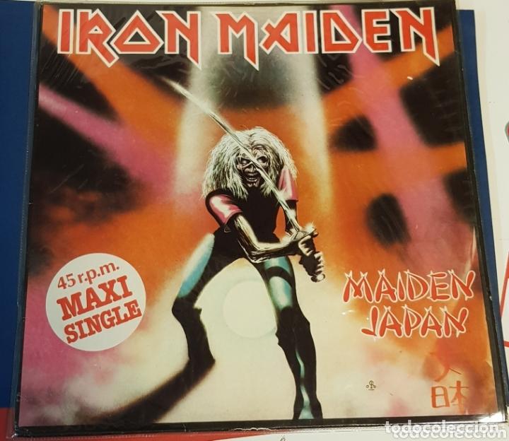 IRON MAIDEN MAIDEN JAPAN MAXI SINGLE EMI (Música - Discos de Vinilo - Maxi Singles - Heavy - Metal)