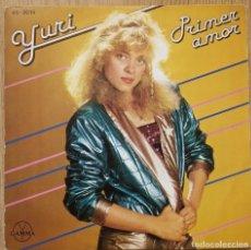 Discos de vinilo: YURI - PRIMER AMOR - SINGLE SPAIN 1980 . Lote 172633520