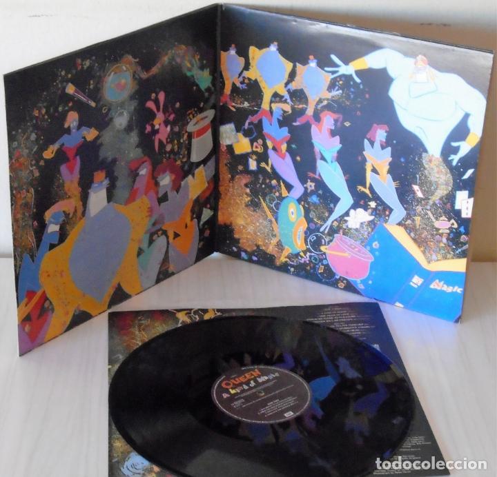 Discos de vinilo: QUEEN - A KIND OF MAGIC EMI - 1986 GAT - Foto 2 - 172638548