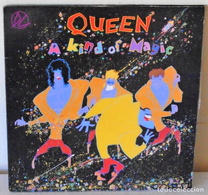 QUEEN - A KIND OF MAGIC EMI - 1986 GAT (Música - Discos - LP Vinilo - Pop - Rock - New Wave Extranjero de los 80)
