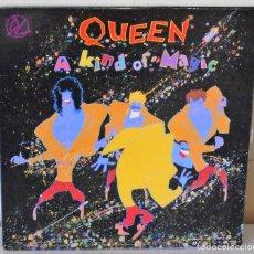 Discos de vinilo: QUEEN - A KIND OF MAGIC EMI - 1986 GAT. Lote 172638548