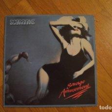 Discos de vinilo: SCORPIONS - SAVAGE AMUSEMENT 1988 LP EMI SPAIN. Lote 172643047