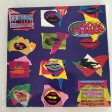 Discos de vinilo: LA DÉCADA PRODIGIOSA - LO MEJOR EN VIVO DE OS 60, 70 Y 80 - LP DOBLE HISPAVOX 1990. Lote 172645315