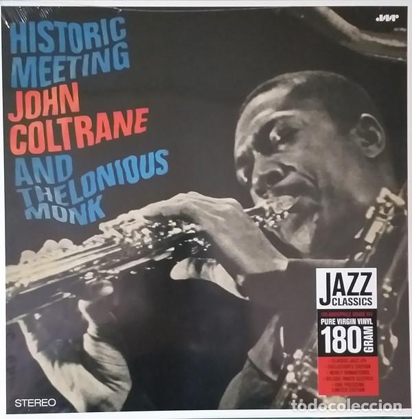JOHN COLTRANE AND THELONIOUS MONK * LP DELUXE 180G * HISTORIC MEETING * PRECINTADO (Música - Discos - LP Vinilo - Jazz, Jazz-Rock, Blues y R&B)