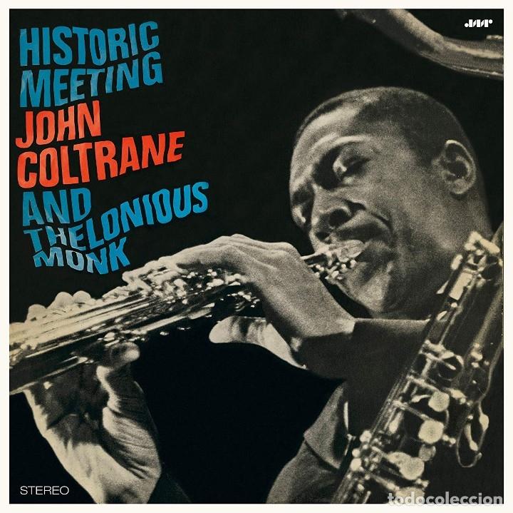 Discos de vinilo: John Coltrane And Thelonious Monk * LP Deluxe 180g * Historic Meeting * Precintado - Foto 3 - 172647257