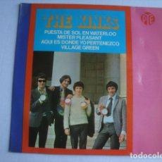 Discos de vinilo: EP THE KINKS - PUESTA DE SOL EN WATERLOO / MISTER PLEASANT (HISPAVOX, 1967). HPY 337-38.. Lote 172648269