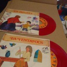 Discos de vinilo: 2 CUENTO DISCOS : LA VENTAFOCS + EN PATUFET . Lote 172653675