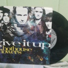 Discos de vinilo: HOTHOUSE FLOWERS GIVE IT UP SINGLE GERMANY 1990 PDELUXE. Lote 172661120